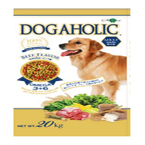 Dogaholic Adult,Beef 20 KG.