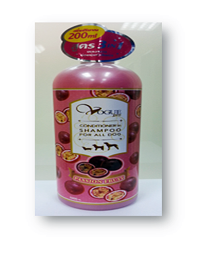 Shampoo ( Passion Fruit Pink ) 1000 ML.