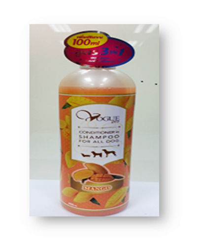 Shampoo ( Mango Orange) 400 ML.