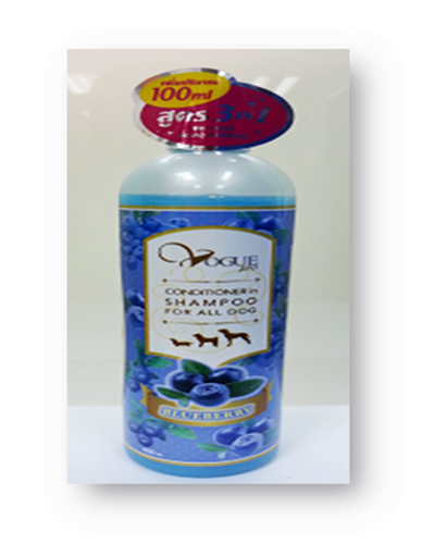 Shampoo ( Blueberry Blue ) 400 ML.