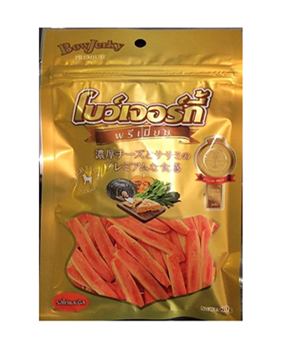 Bow Jerky Premium (Chicken & Cheese )