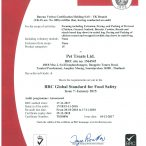 B.R.C. Certified !!